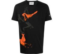T-Shirt mit Daffy-Duck-Print