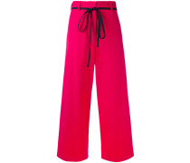 - Weite Cropped-Hose - women