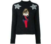 Pullover mit Löwen-Patch