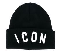 """Wollbeanie mit """"Icon""""-Stickerei - men - Wolle"""