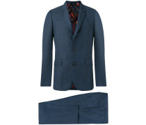 Zweiteiliger Anzug - men - Wolle/Viskose - 44