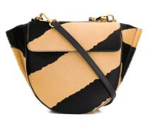 'Hortensia' Handtasche mit Zebra-Print