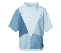 - Jeans-T-Shirt mit Patchwork-Design - women