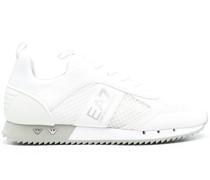 Sneakers mit Logo-Streifen