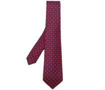 patterned tie - men - Seide - Einheitsgröße