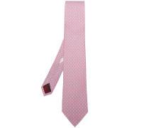 micro rabbit print tie