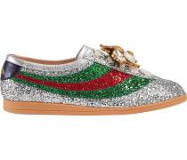 'Falacer' Sneakers mit Glitzereffekt