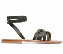 slingback lattice sandals