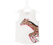 Top mit Giraffen-Print