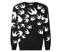 "Sweatshirt mit ""Swallow""-Print"