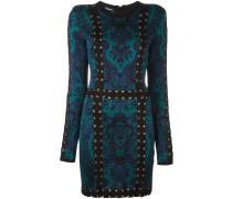 - Gemustertes Kleid mit Schnürungen - women
