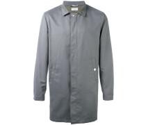 Mantel mit verdeckter Knopfleiste - men