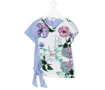 Oberteil mit floralem Print - kids - Baumwolle