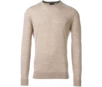 Sweater mit gerippten Akzenten