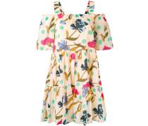 Florales Kleid mit Cut-Outs - women - Baumwolle