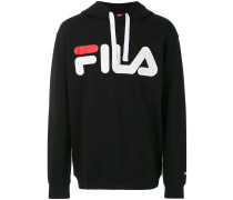classic logo drawstring hoodie