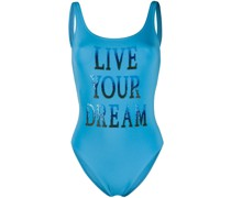 'Live your Dreams' Badeanzug