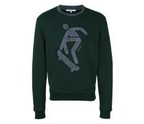 Sweatshirt mit Skater-Patch