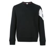- Sweatshirt mit Kontrasteinsatz - men