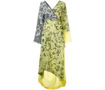 Wickelkleid mit Print - women - Seide - L