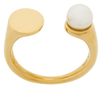 Offener Ring mit Perle