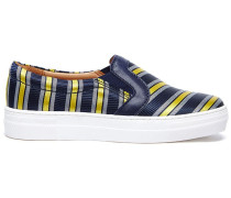 'Varsity' Slip-On-Sneakers - women