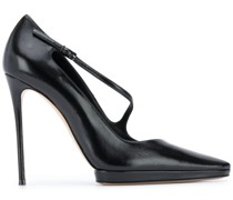 Stiletto-Pumps mit Knöchelriemen