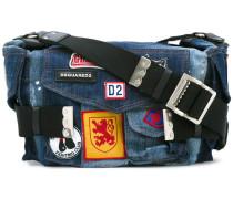 'Postman' Jeans-Schultertasche - women