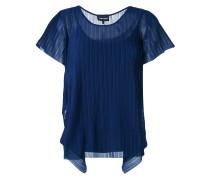 T-Shirt mit Falten-Details - women