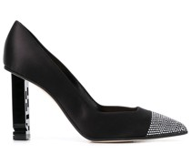 'Super Heel' Pumps mit Kristallen
