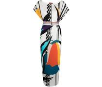 Strandkleid mit grafischem Print