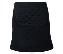 quilted detail skirt