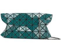 Schultertasche mit geometrischem Design