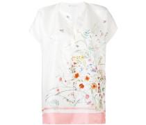 Seidenbluse mit Blumen-Print - women - Seide - S