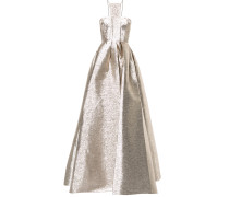 Lincoln halterneck flared gown