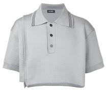 Cropped-Poloshirt mit Kontraststreifen - men