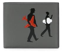 Portemonnaie mit Figurenmotiv