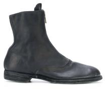 front zip boots