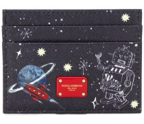 space robot card holder