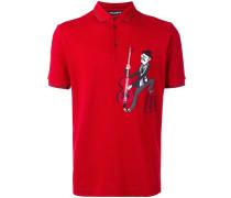 Poloshirt mit Musiker-Patch - men