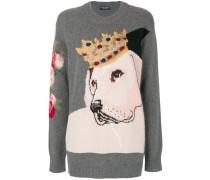 Pullover mit Hundemuster