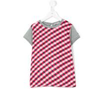 T-Shirt mit Karo-Muster