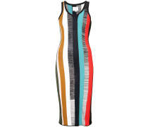 Figurnahes Kleid mit Streifen