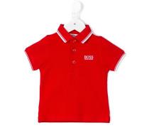 Poloshirt mit Logo-Stickerei - kids - Baumwolle
