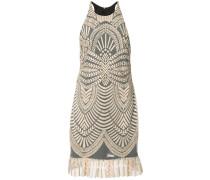 Kleid mit plissiertem Saum - women - Polyester