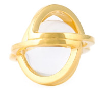 'Planetaria' Ring aus 18kt vergoldetem Sterlingsilber