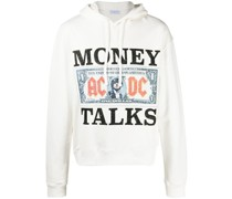 "Hoodie mit ""Money Talks""-Print"