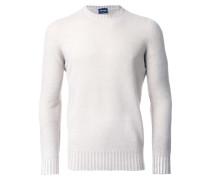 Wollpullover mit rundem Ausschnitt