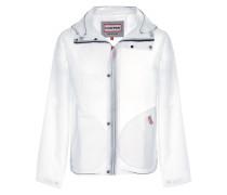 Transparente Jacke mit Reißverschluss