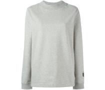 Nikelab Essentials fleece mock neck sweatshirt